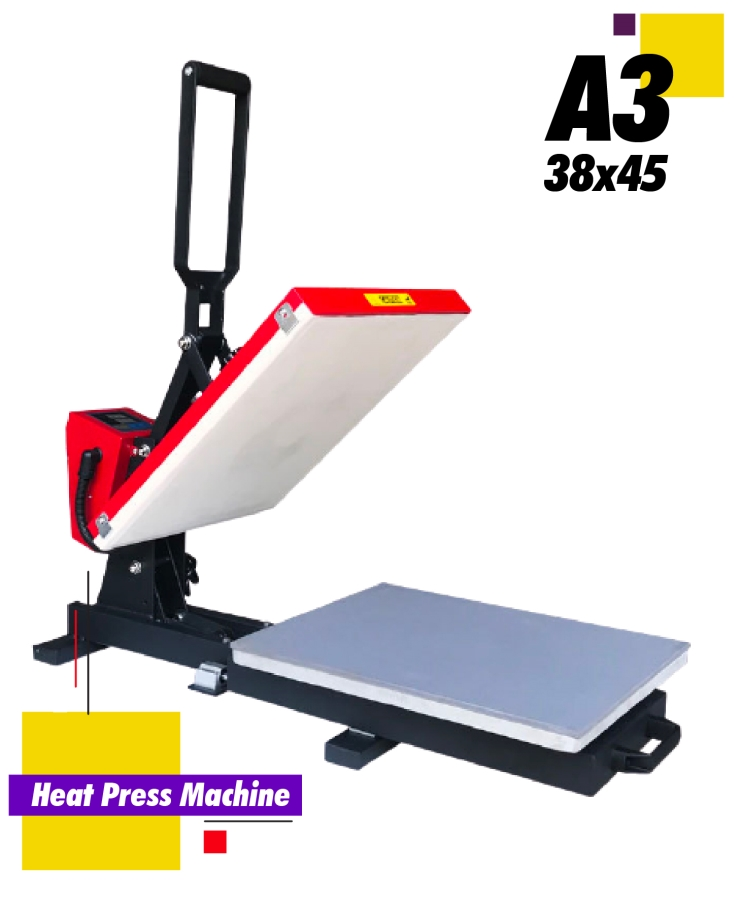 Auto Open Heat Press Machine