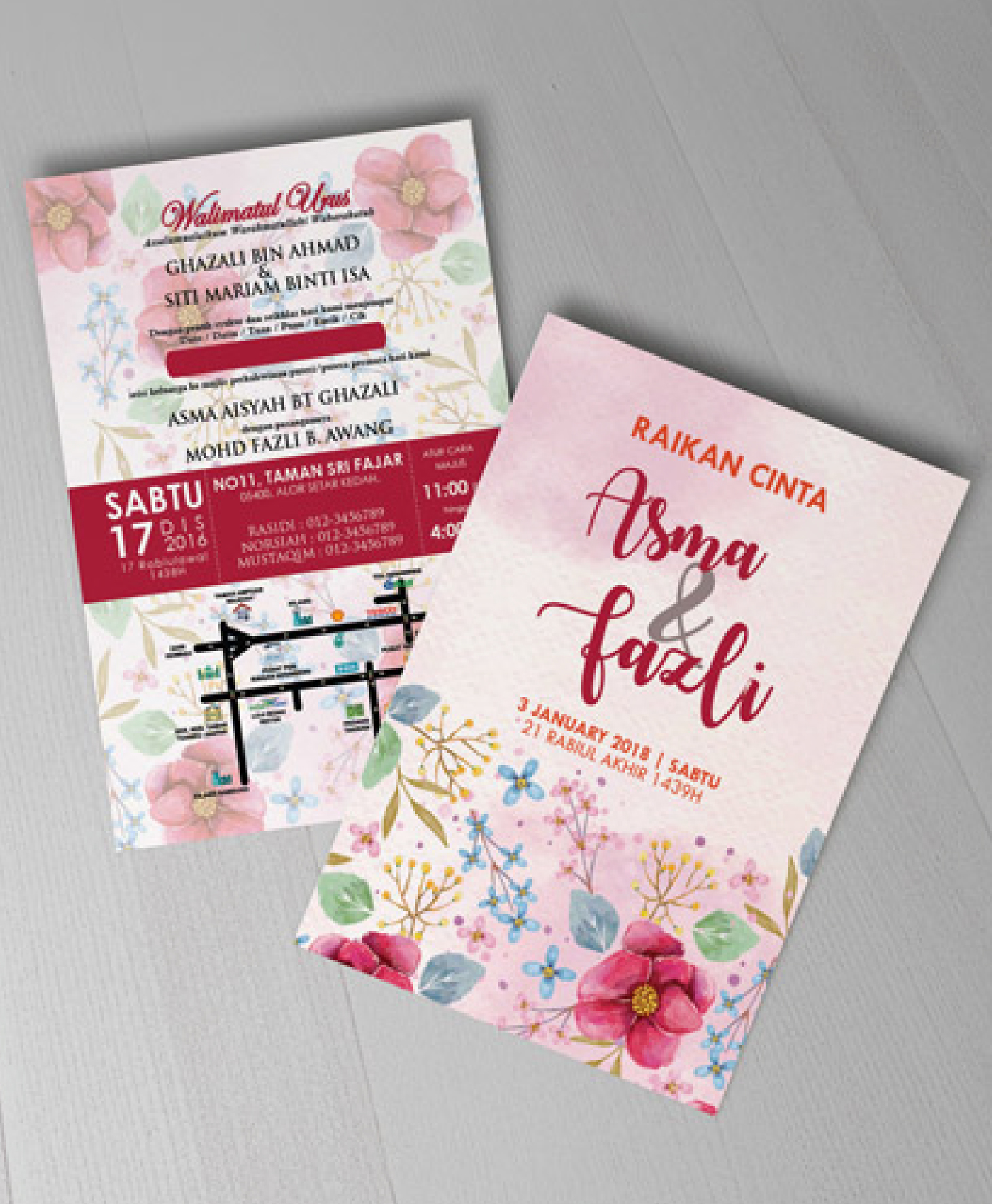Wedding/Invitation Card