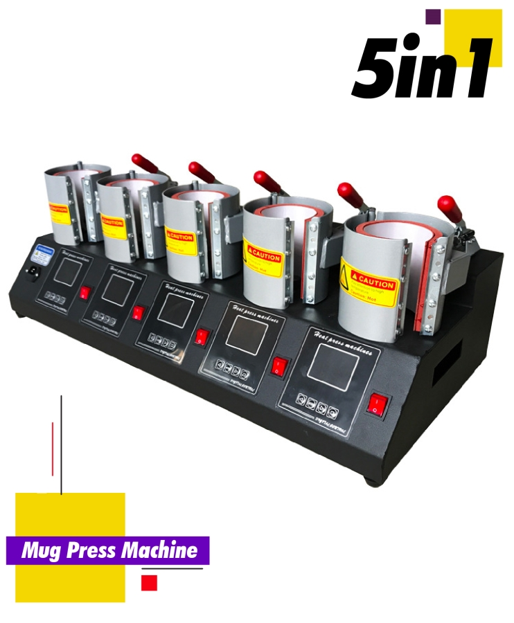 5in1 Mug Press Machine