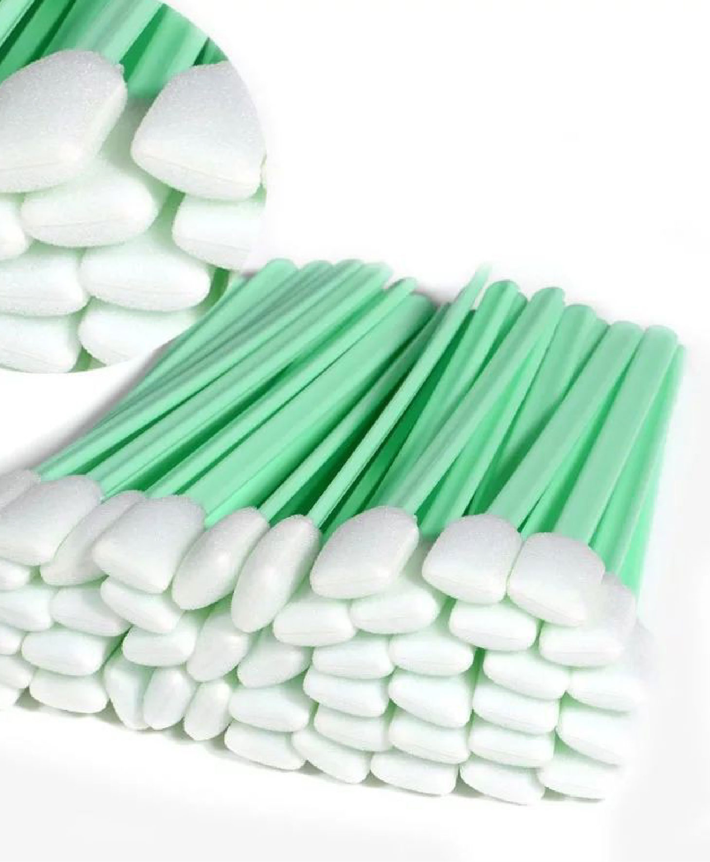 Solvent Foam Tipped Cleaning Swabs
